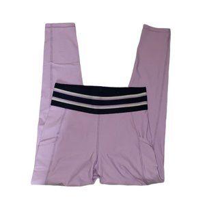AERIE purple move high rise 7/8 leggings medium